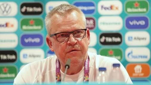 Тренер Швеції розповів, коли почне готуватися до України