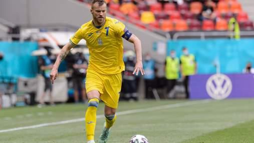 Ярмоленко – в символической сборной группового этапа Евро-2020