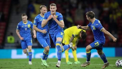 Фантастический Зинченко, героический Беседин и счастливый Довбик: мы в четвертьфинале Евро-2020!