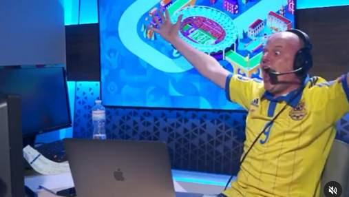 Зірвав голос і схопився за голову – неймовірні емоції Вацка у матчі зі Швецією: вірусне відео