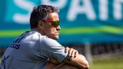 Посмотрите, где сборная Украины, – тренер Испании Луис Энрике расхвалил команду Шевченко