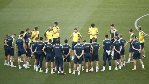 Збірна України оголосила стартовий склад на матч з Англією – повернення Миколенка