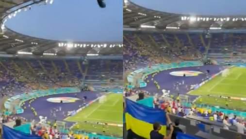 Стадион в Риме потрясающе исполнил гимн Украины перед матчем с Англией на Евро-2020: видео
