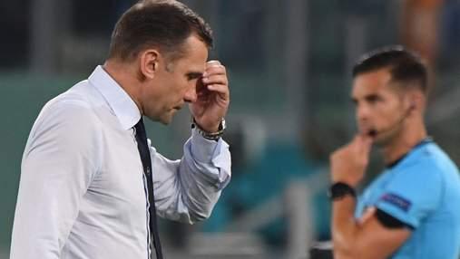 Разочарование Шевченко игрой сборной Украины стало мемом: фотофакт