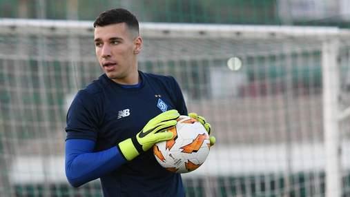 Молодий голкіпер Динамо Нещерет може стати партнером Роналду – ним цікавиться Ювентус