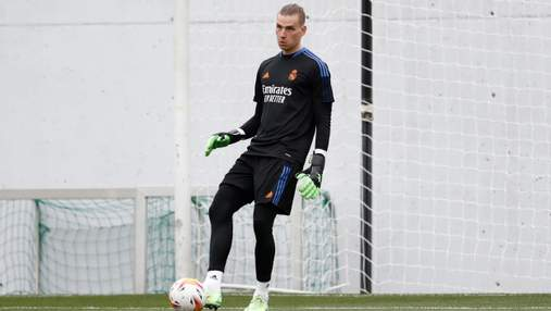 Шанс на омріяну основу: Лунін потрапив у заявку Реала на перший матч сезону