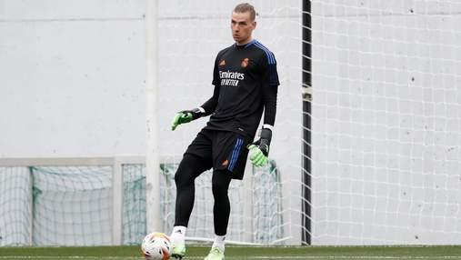 Шанс на желанную основу: Лунин попал в заявку Реала на первый матч сезона
