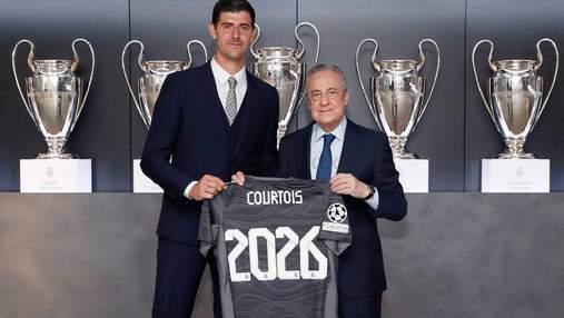 Трагедия для Лунина: Реал продлил контракт с Куртуа