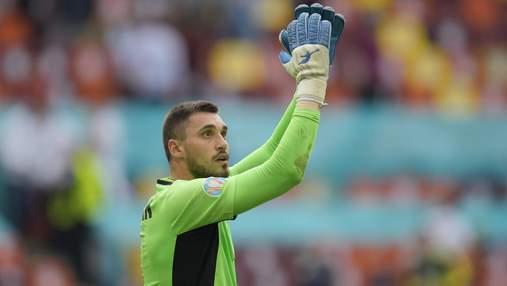 Бущан избежал операции, но не сыграет за Украину в отборе на ЧМ-2022