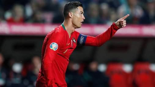 Роналду вдарив суперника за хамство у матчі відбору ЧС-2022: відео
