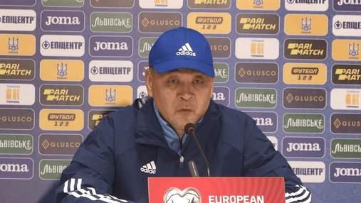 Лидеры Украины просели, – тренер Казахстана Байсуфинов считает ничью справедливым результатом