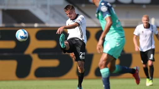 Коваленко дебютував у Серії А – невиразна гра і драматична поразка
