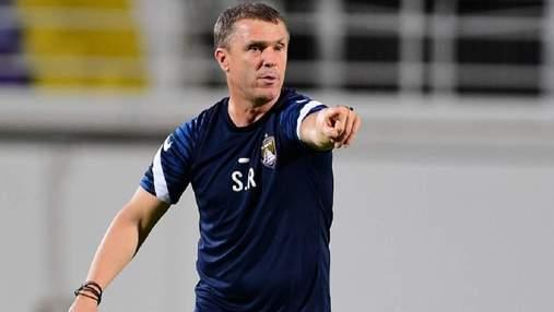 Ребров став тренером місяця в ОАЕ: його Аль-Айн здобув максимальну кількість перемог