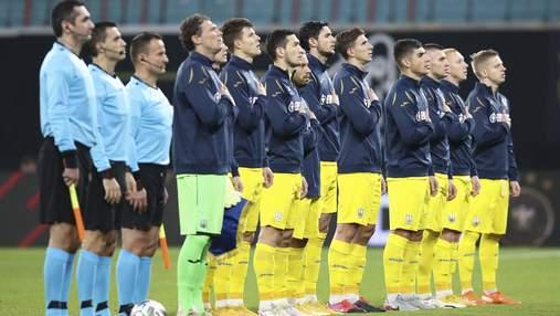 Україна впала в рейтингу ФІФА –наша команда вибула з 25 найсильніших у світі