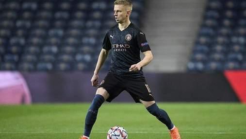 Манчестер Сити без Зинченко сконфузился против Саутгемптона