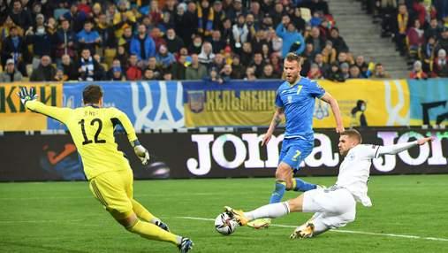 Ярмоленко забивает боснийцам и продолжает погоню за Шевченко: видео атмосферного гола во Львове