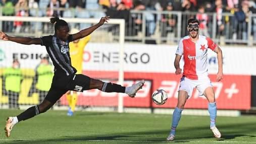 Славія врятувалася від сенсаційної поразки: Качараба відіграв весь матч
