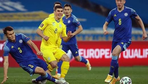 Україна –Казахстан: хто став найкращим гравцем матчу